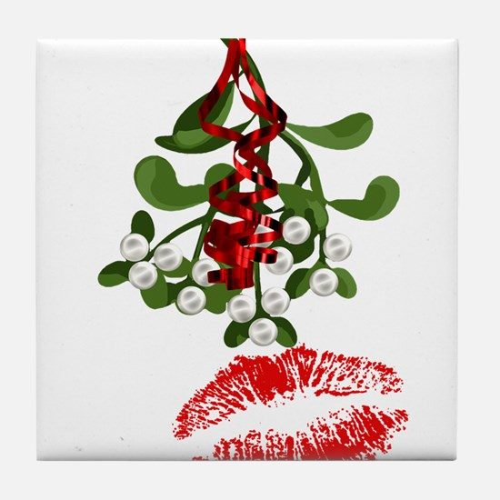 Funny Holidays Tile Coaster