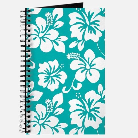 Turquoise Hawaiian Hibiscus Journal