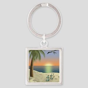 Sunset Beach Keychains