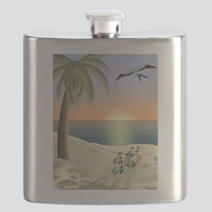 Sunset Beach Flask
