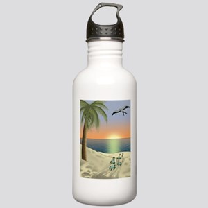 Sunset Beach Water Bottle