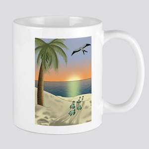 Sunset Beach Mugs