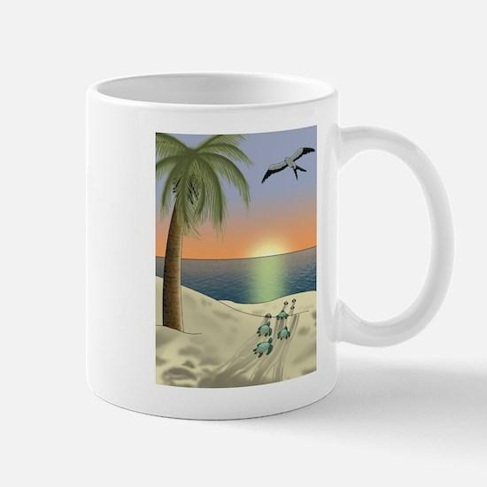 Sunset Beach Mugs