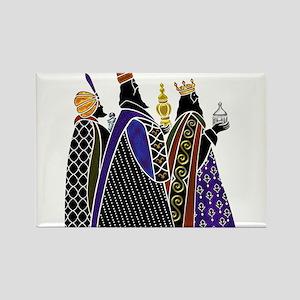 Three Magi Bearing Gifts Magnets