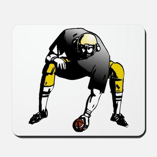 Football Lineman Mousepad