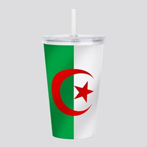 Flag of Algeria Acrylic Double-wall Tumbler