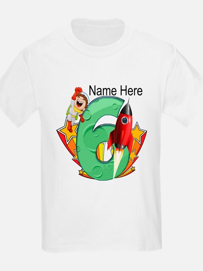 Rocket 6th Birthday T-Shirt