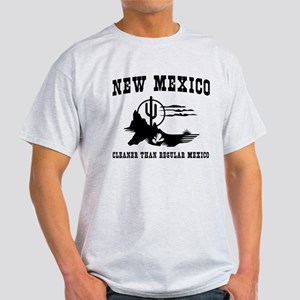 New Mexico Cleaner Than Regular Mexico T-Shirt