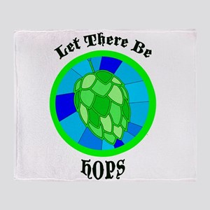 Let There Be Hops! Throw Blanket