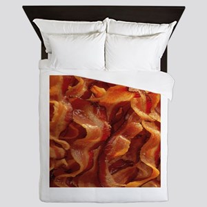 bacon standard Queen Duvet