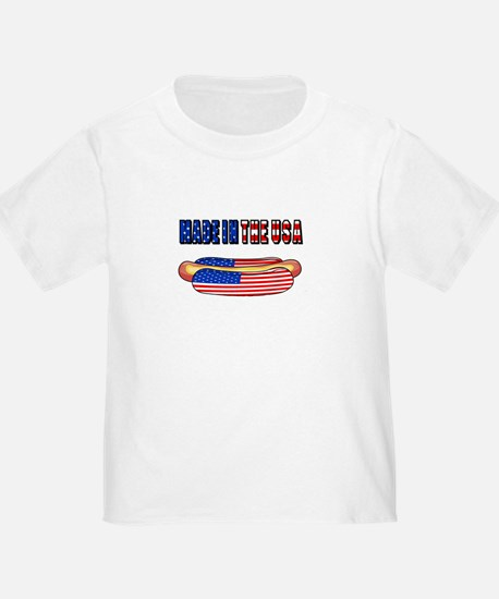 Made in the USA July 4th T