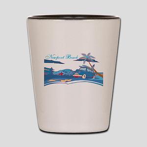 Newport Beach Surf Culture Shot Glass