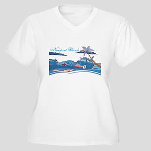 Newport Beach Surf Culture Plus Size T-Shirt