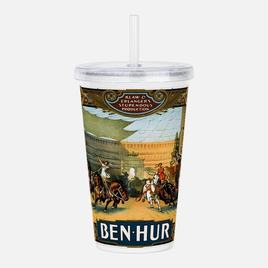 ben hur Acrylic Double-wall Tumbler