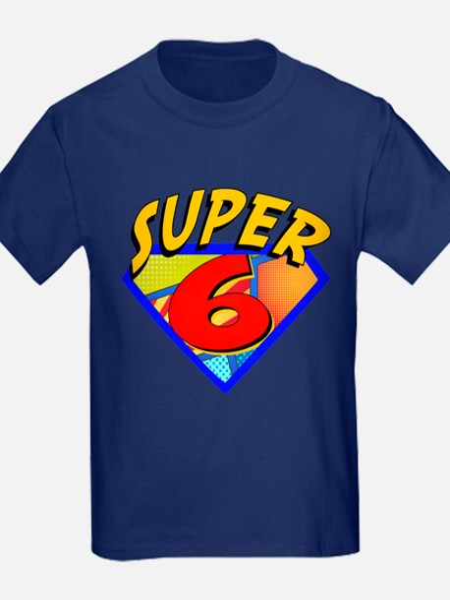 Superhero 6 Birthday T