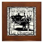 New Orleans Tarot Art Framed Tile