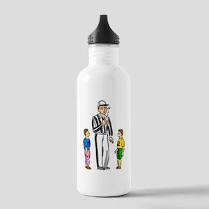 Kids Football Ref Water Bottle