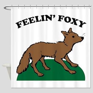Feelin Foxy Shower Curtain
