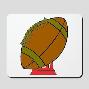 Football On A Tee Mousepad