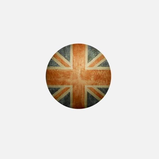 Cute Anglophile Mini Button