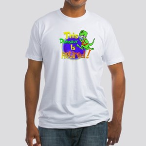 Dinosaur Capers.:-) Fitted T-Shirt