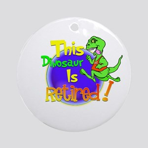 Dinosaur Capers.:-) Ornament (Round)