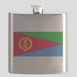 Flag of Eritrea Flask
