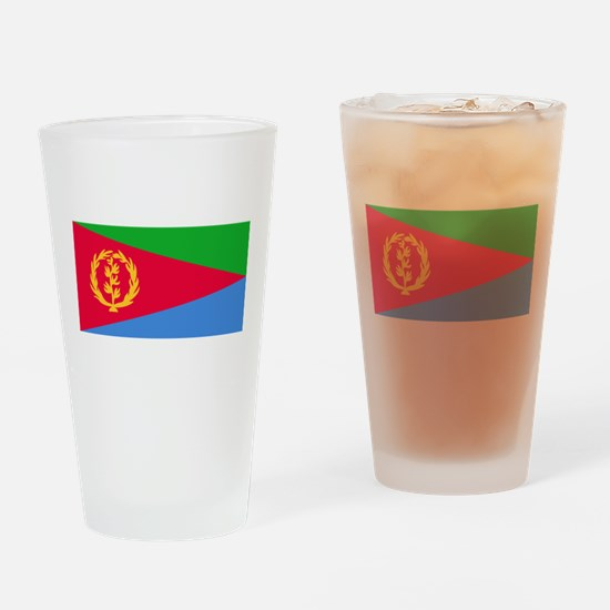 Flag of Eritrea Drinking Glass
