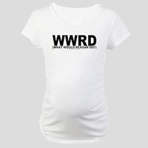 WWRD? Maternity T-Shirt