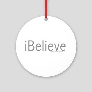 iBelieve Ornament (Round)