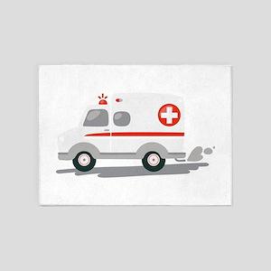 EMT Ambulance 5'x7'Area Rug