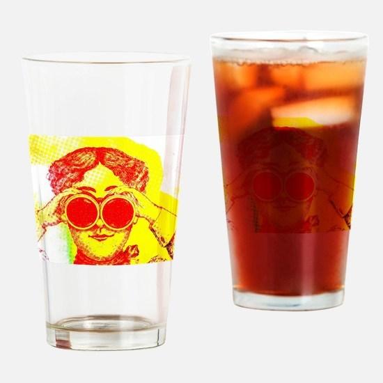 Cute Binocular Drinking Glass