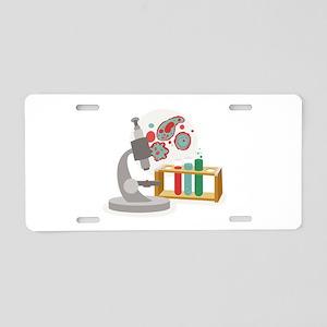 Biology Science Aluminum License Plate