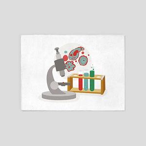 Biology Science 5'x7'Area Rug