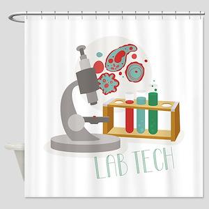 Lab Tech Shower Curtain