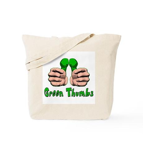 Green Thumbs Tote Bag