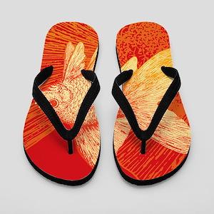 Goldfish Flip Flops