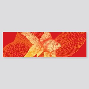 Goldfish Bumper Sticker