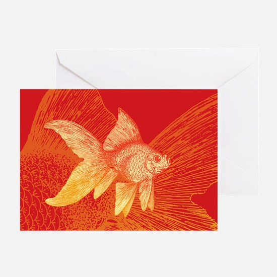 Goldfish Greeting Cards