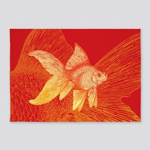 Goldfish 5'x7'Area Rug