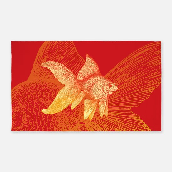 Goldfish 3'x5' Area Rug