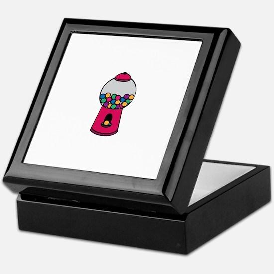 Gumball Machine Keepsake Box