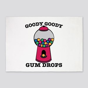Goody Goody Gum Drops 5'x7'Area Rug