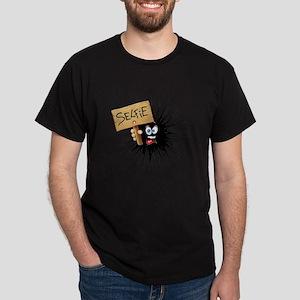 Selfie Fun Cartoon Face T-Shirt