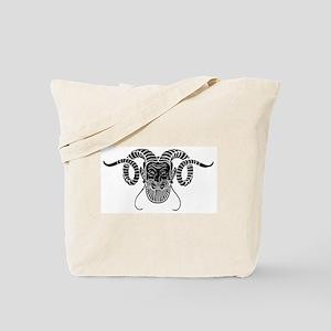 Devil Face Tote Bag