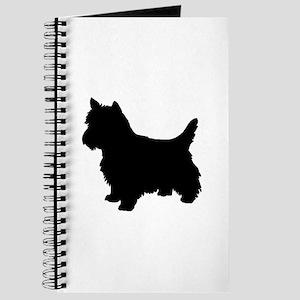 Cairn Terrier Black 1C Journal