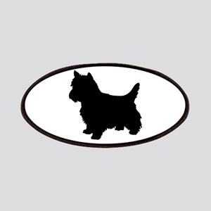 Cairn Terrier Black 1C Patches