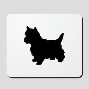 Cairn Terrier Black 1C Mousepad
