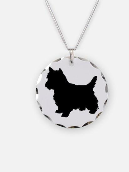 Cairn Terrier Black 1C Necklace