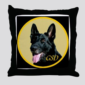 GSD Throw Pillow